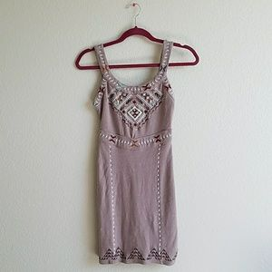 Free People Dresses - FREE PEOPLE embroidered cutout back dress